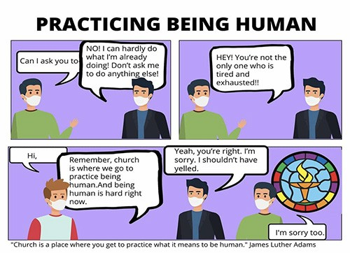 PRACTICING BEING HUMAN